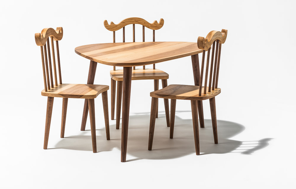 Happy Deer Design- little forager table