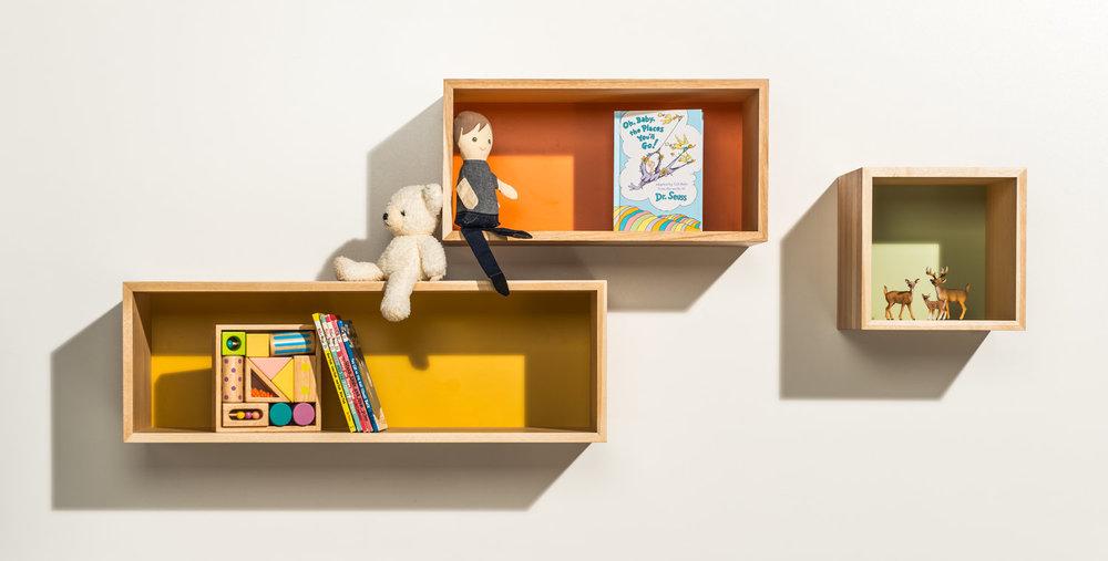 Happy Deer Design- 123 shelves