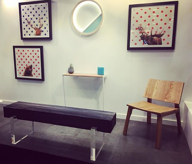 A perfect blend..... furniture and artworks and lighting by The Collective members @arosteguistudio @happydeerdesign @atelierdimo @kurva_design  Come check out booth 1105 @idsvancouver today through Sunday.  #modernhome #scandinaviandesign #bespoke #contemporary  #handmade #interiorstyling  #interiordesign #interiordesigner  #moderndesign  #yvr #yyj  #design #designers #shopvictoria #shoplocal #architecture #makersgonnamake #vanisle #madeinvictoria  #lightingdesign #lighting #light #designerlighting #LED  #wooden #custommadefurniture #furniture #furnituredesign #studiofurniture