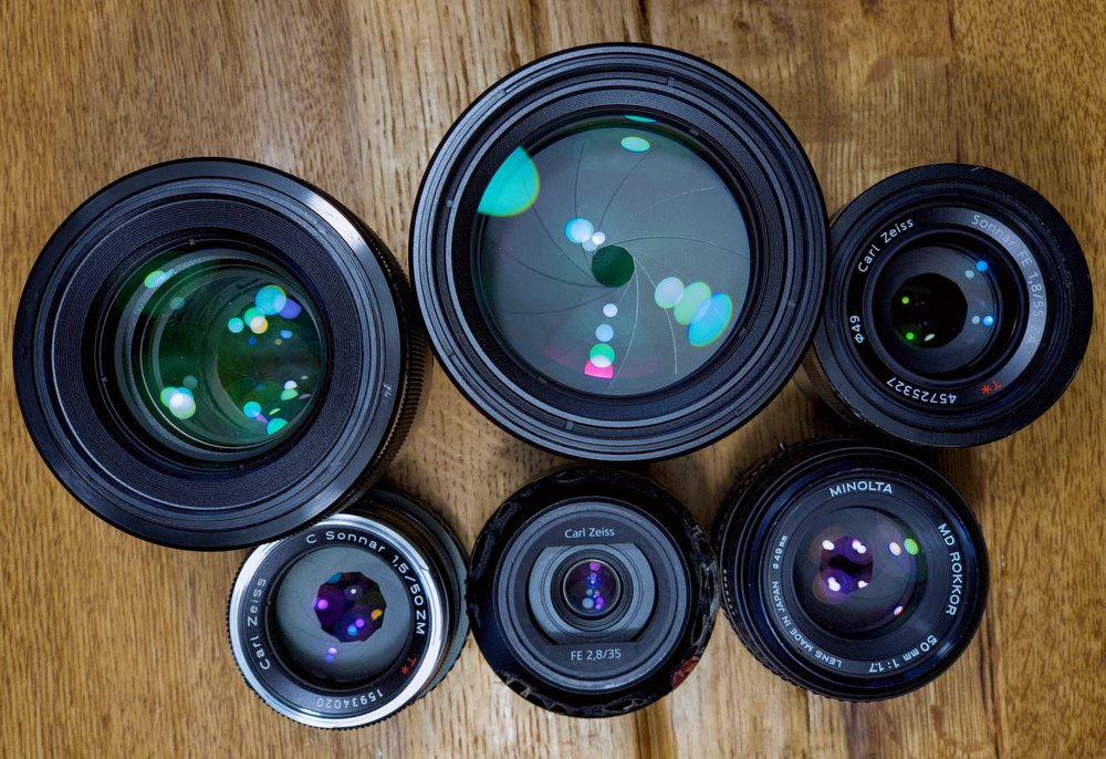 My Favorite Lenses For The Sony A7 -