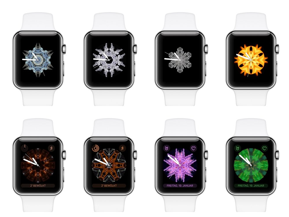 kaleidoscope watch faces for apple watch