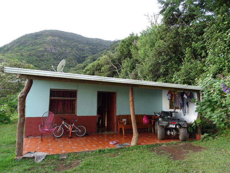 This photo is of a typical Costa Rican house located in the hills of San Luis,Monteverde, Costa Rica. This picture beautifully captures the gorgeous, lush hills and is a snapshot into the life of a Costa Rican family. This family hosted us for a cooking class, and also runs a small coffee farm on their serene property overlooking the green hills leading out to the Nicoya Peninsula.  Words and photo by Julie Israelson
