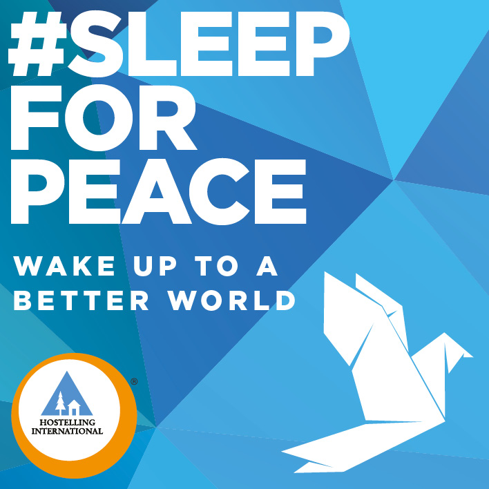 Hostelling International_Sleep for Peace_Fondation Tourisme Jeunesse