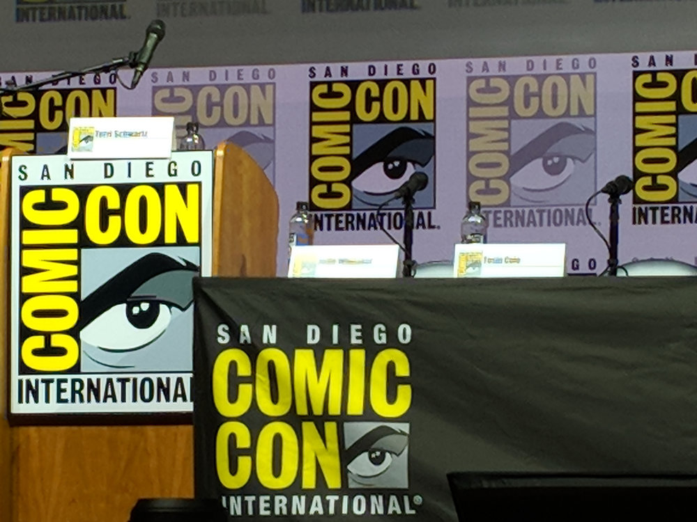 SAN DIEGO COMIC-CON, the largest event of its kind.