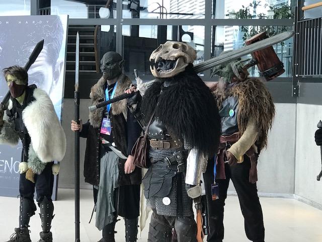 More Orcs from Íslenskt LARP (Kvikspuni) ready to battle Men, Dwarves and Elves.
