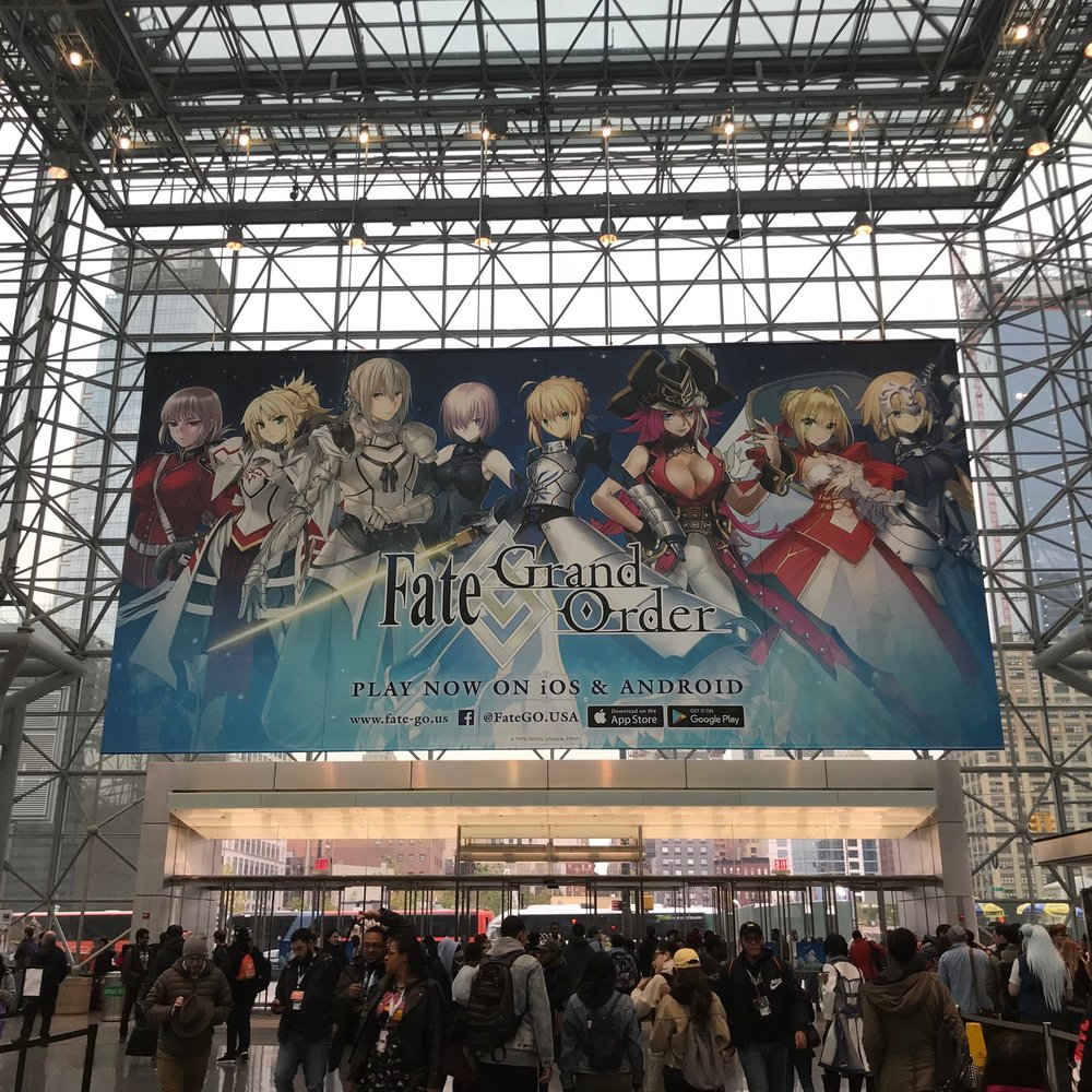 Javitz Center doorway to all that is Anime