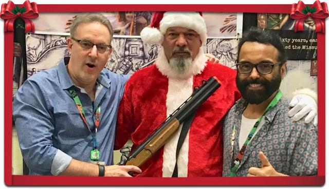 """CLIFFORD EVAN - We interview the genius behind this """"Salty Santa""""!"""