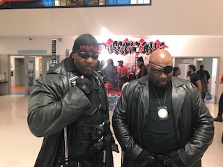 Is it really an event without the infamous @legendofthedaywalker aka Blade and @ciscokid66 aka Nick Fury?