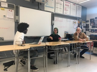 Chrissy Fellmeth and J.J. Sedelmaier panel discussion