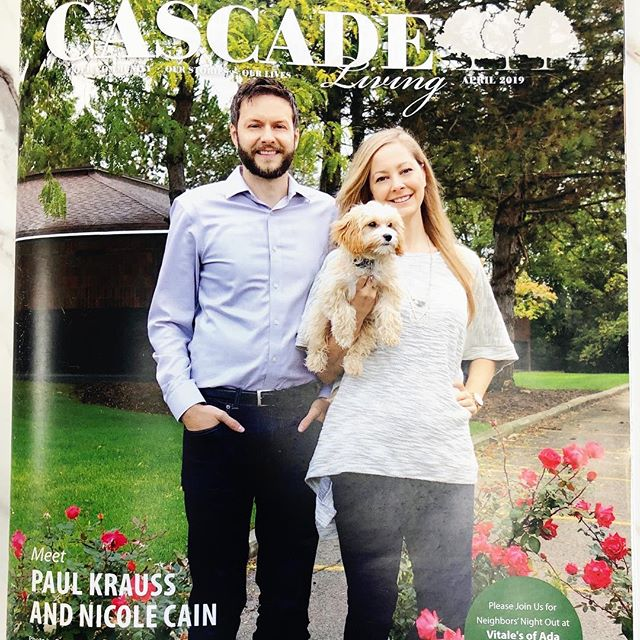 Thank you so much #CascadeMagazine for honoring us to be on the cover of your magazine. We daily strive to bring world-class #TraumaInformed care to #GrandRapids #michigan and partnering with the cascade community is part of what makes that possible. 🙌🏻❤️ #hopeformentalhealth #speakup #riseup #motivation #entrepreneur #inspirationalwomen #westmichigan #healthforlife #drnicolecain