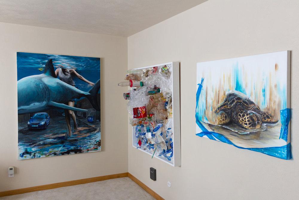 Studio Installation (8 ft. tall walls)