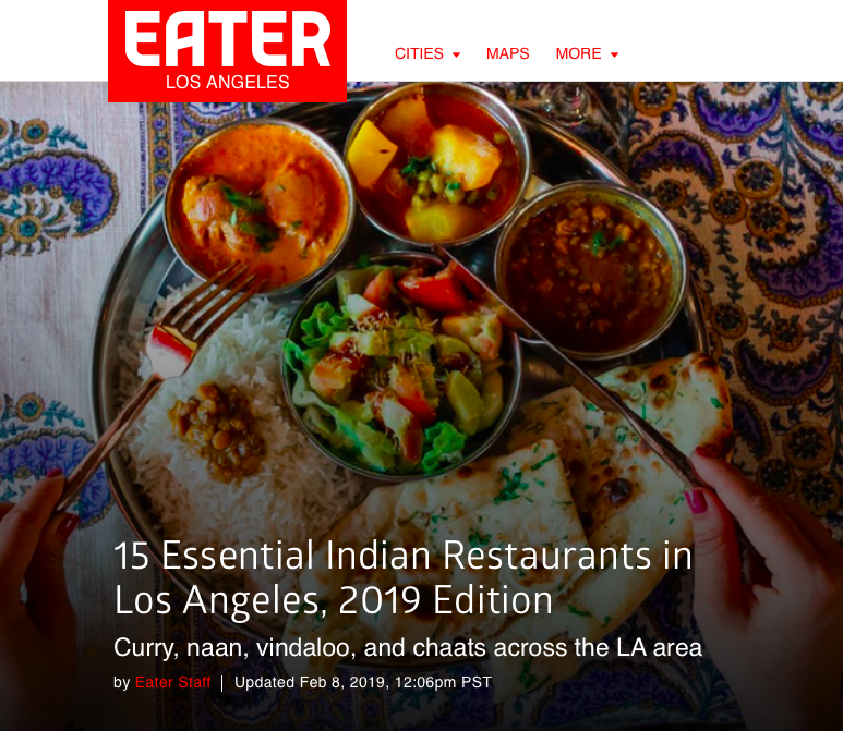 All India Cafe An Essential Indian Restaurant In Los