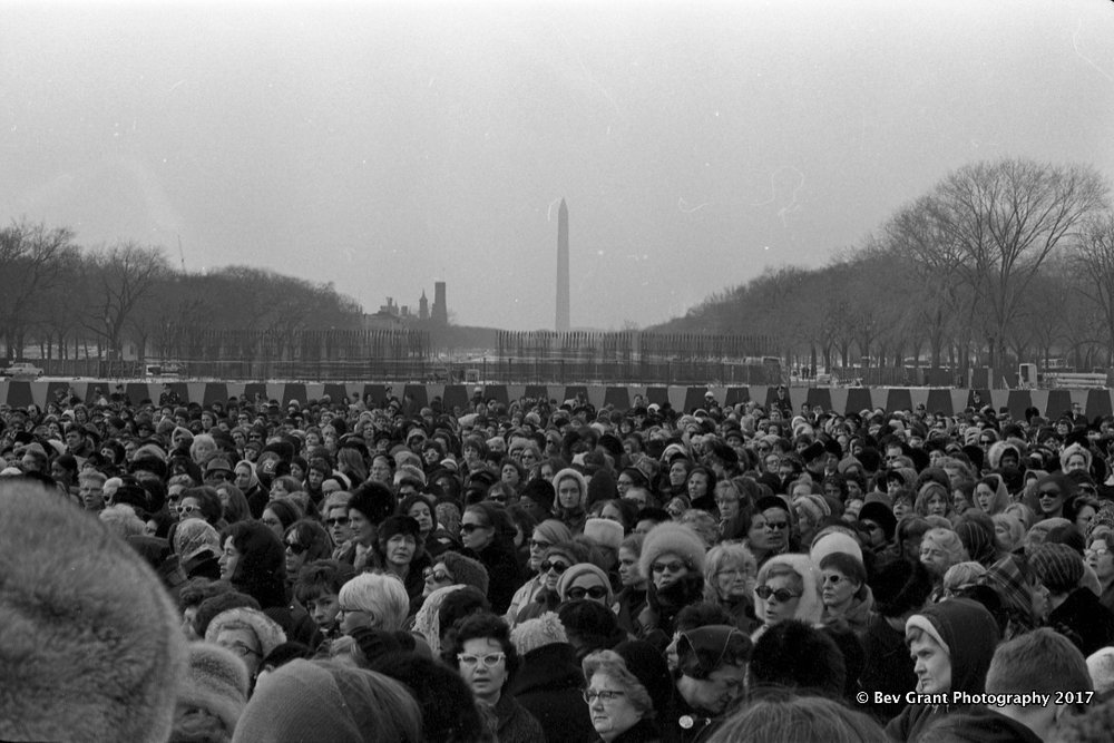 Jeanette Rankin Brigade March on Washington, Jan. 15, 1968