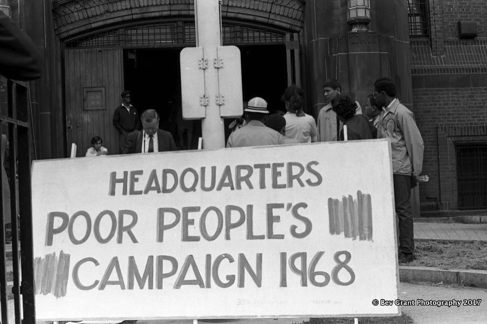 Poor People's Campaign, NYC, May 1968