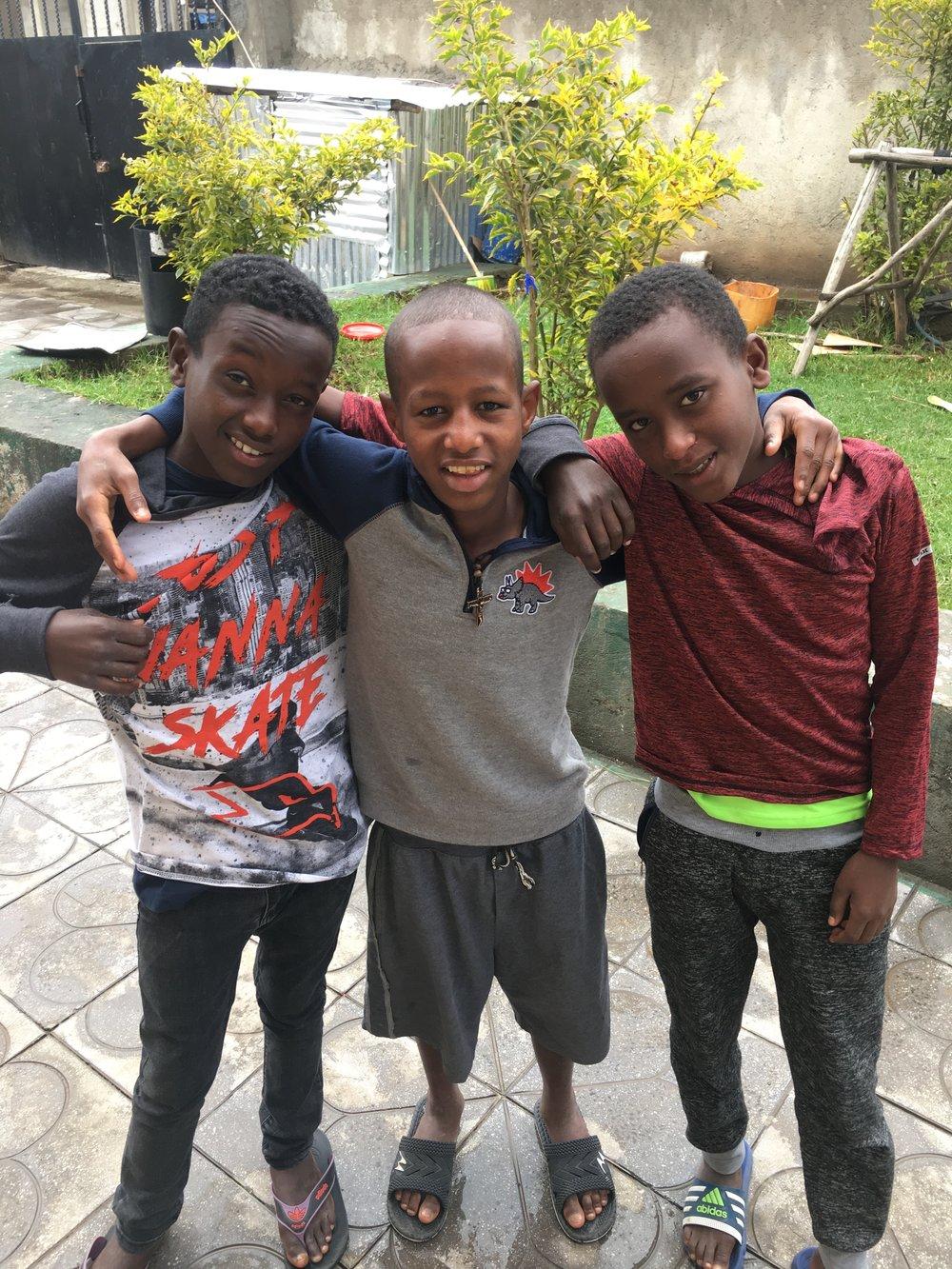 Ashinafi, Naol, and Fekadu