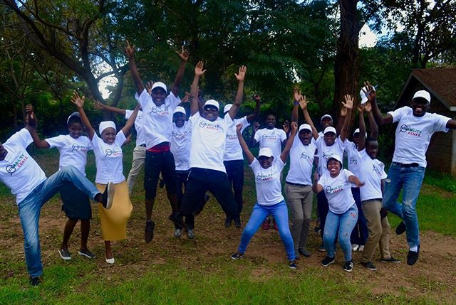 A glimpse of 2018! This team right here embodies talent, enthusiasm,and a strong passion for change!✨ . . Please tag your friends in the comment box below 😊 . . #volunteers #socialchangemakers #mentalhealthadvocates #youthleaders #kenya #bethechange #machakos #visabilityvolunteernetwork #letsmakeadifferencetogether #visabilitykenya