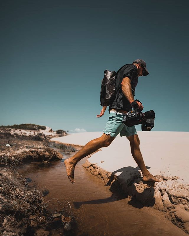Sometimes you have to jump with the Red Cam 😃 Pic by @victorborsuk #cameraman #reddigitalcinema #filmlive #filmcrew #onset #travel #traveller #directorofphotography #redraven #lovemyjob