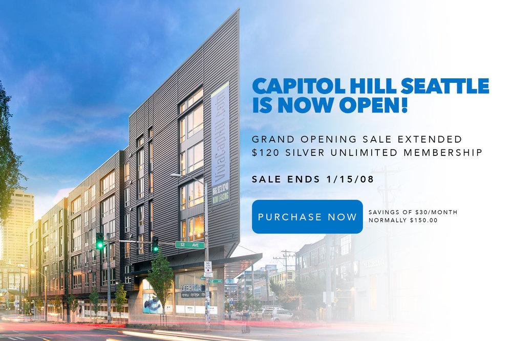Urban Float Capitol Hill Seattle is open!