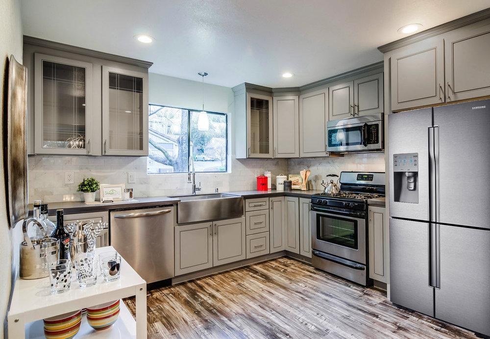 JK Cabinetry Greige Maple — J&S Kitchen and Bath Designs