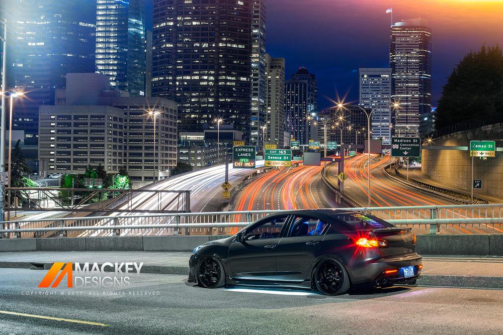 Automotive Photographer - Seattle - Josh Mackey - Mazda 3