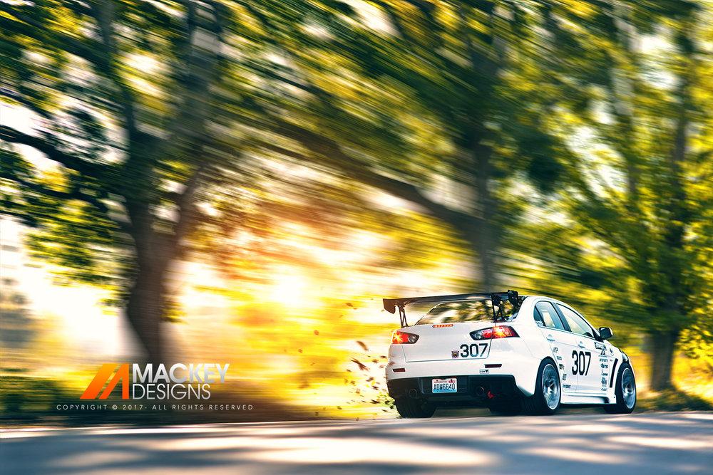 Automotive Photographer - Seattle - Josh Mackey - Mitsubishi Evolution