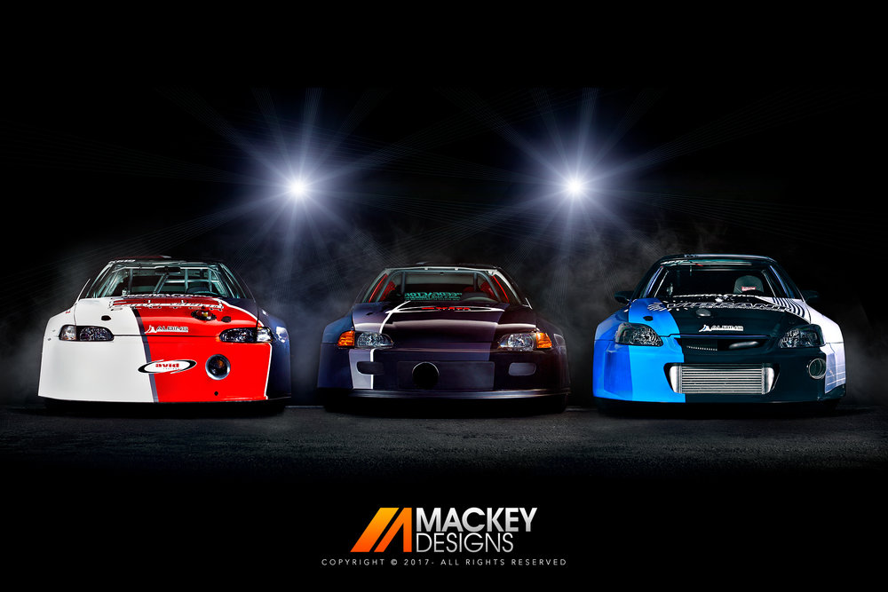 Automotive Photographer - Seattle - Josh Mackey - SpeedFactory Drag Racing Honda Civic