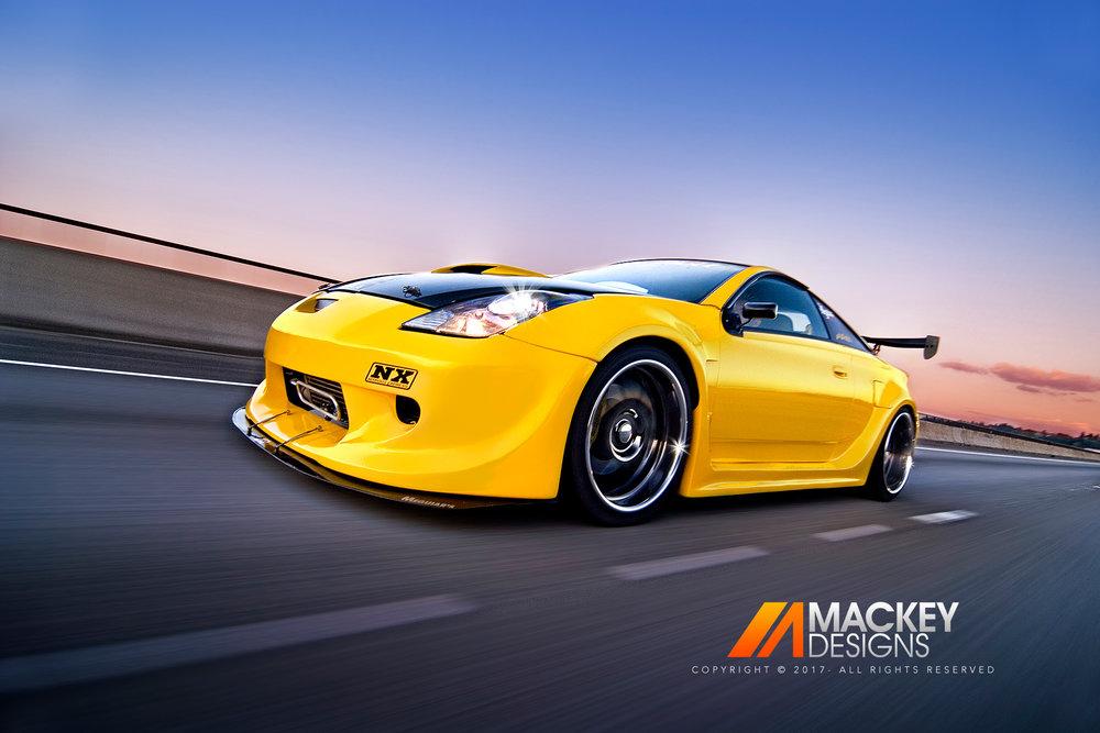 Automotive Photographer - Seattle - Josh Mackey - Toyota Celica