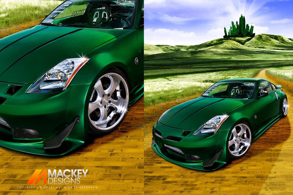 Automotive Photographer - Seattle - Josh Mackey - Nissan 350Z