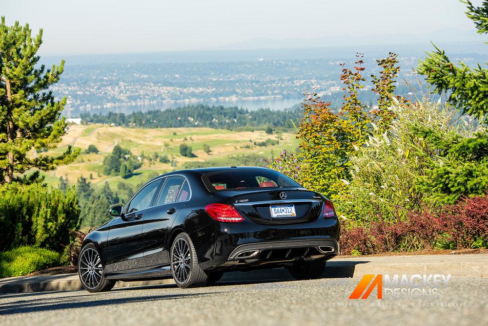 Automotive Photographer - Seattle - Josh Mackey - Mercedes Benz