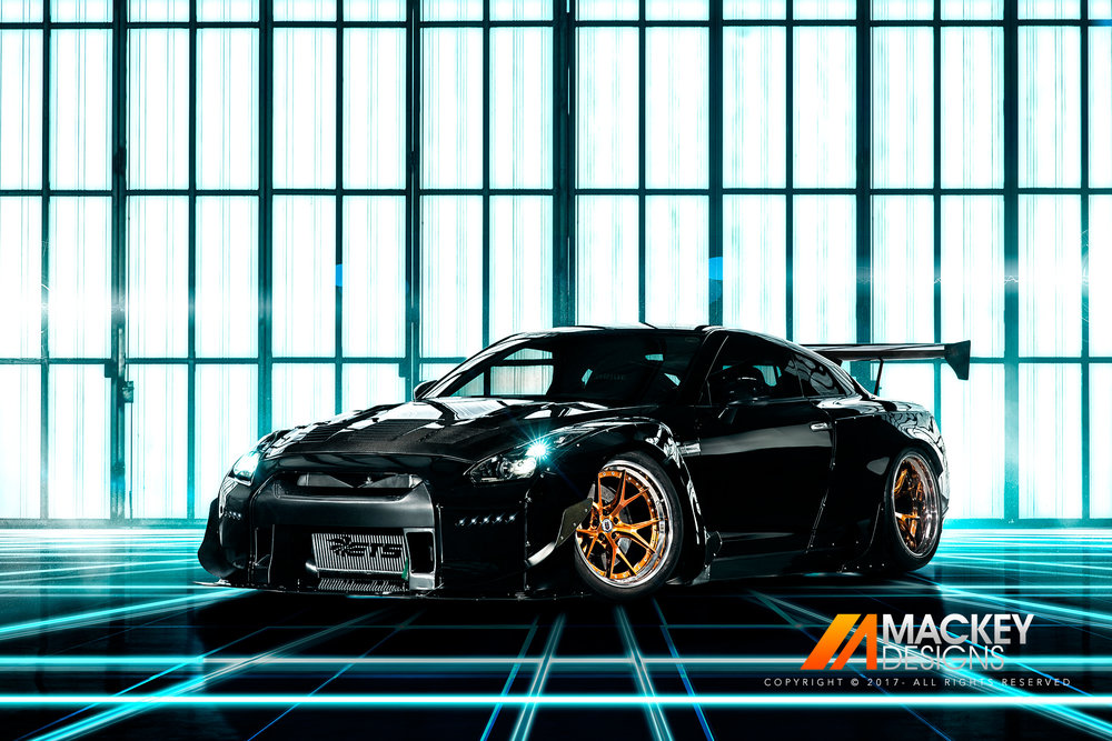 Automotive Photographer - Seattle - Josh Mackey - Rocket Bunny Nissan R35 GTR