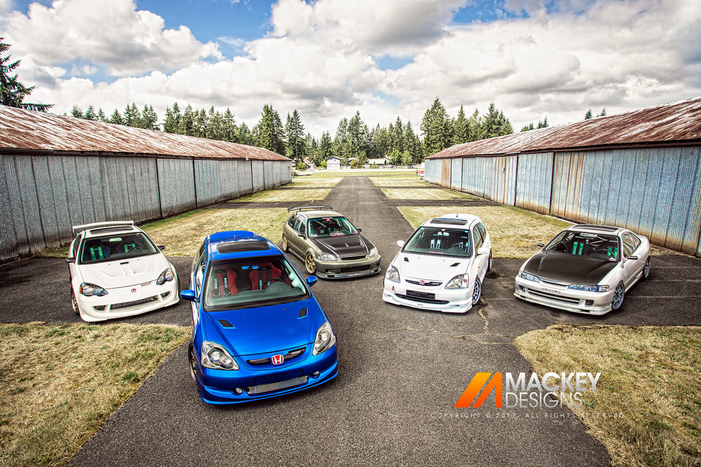 Automotive Photographer - Seattle - Josh Mackey - Honda Civic Acura Integra