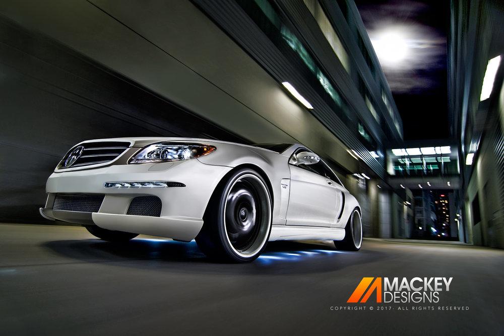 Automotive Photographer - Seattle - Josh Mackey - CNC Mercedes Benz