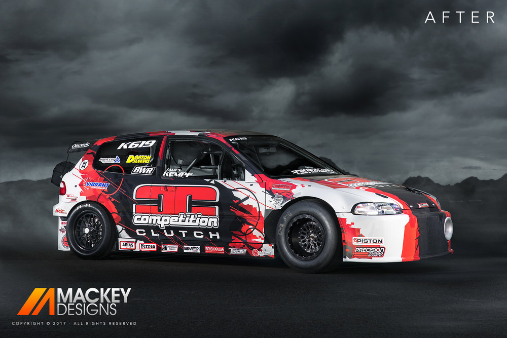 Automotive Photographer - Seattle - Josh Mackey - SpeedFactory Civic After