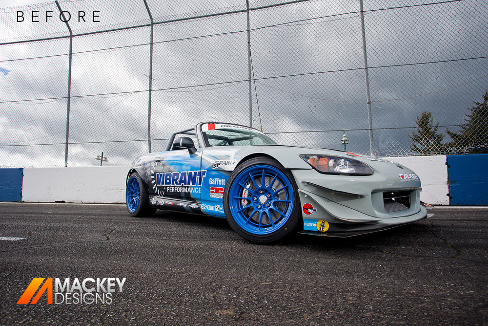 Automotive Photographer - Seattle - Josh Mackey - Formula DRIFT S2000 Before