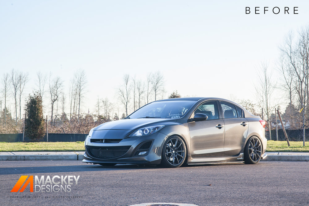 Automotive Photographer - Seattle - Josh Mackey - Mazda 3 Before