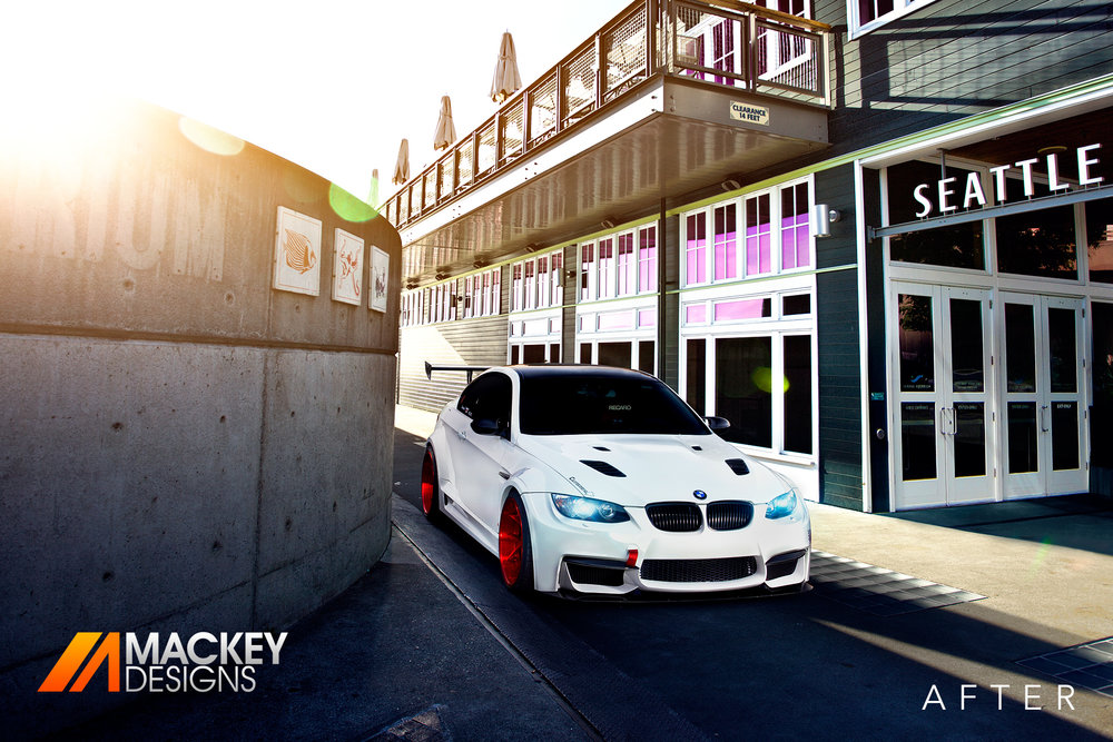 Automotive Photographer - Seattle - Josh Mackey - BMW M3 After