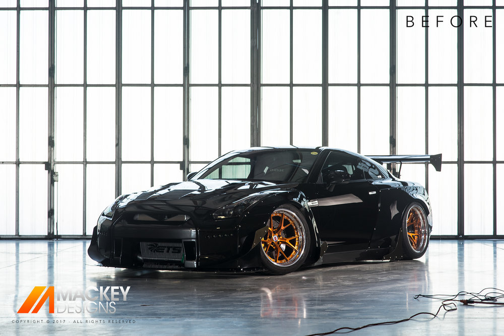 Automotive Photographer - Seattle - Josh Mackey - Rocket Bunny Nissan GTR R35 Before