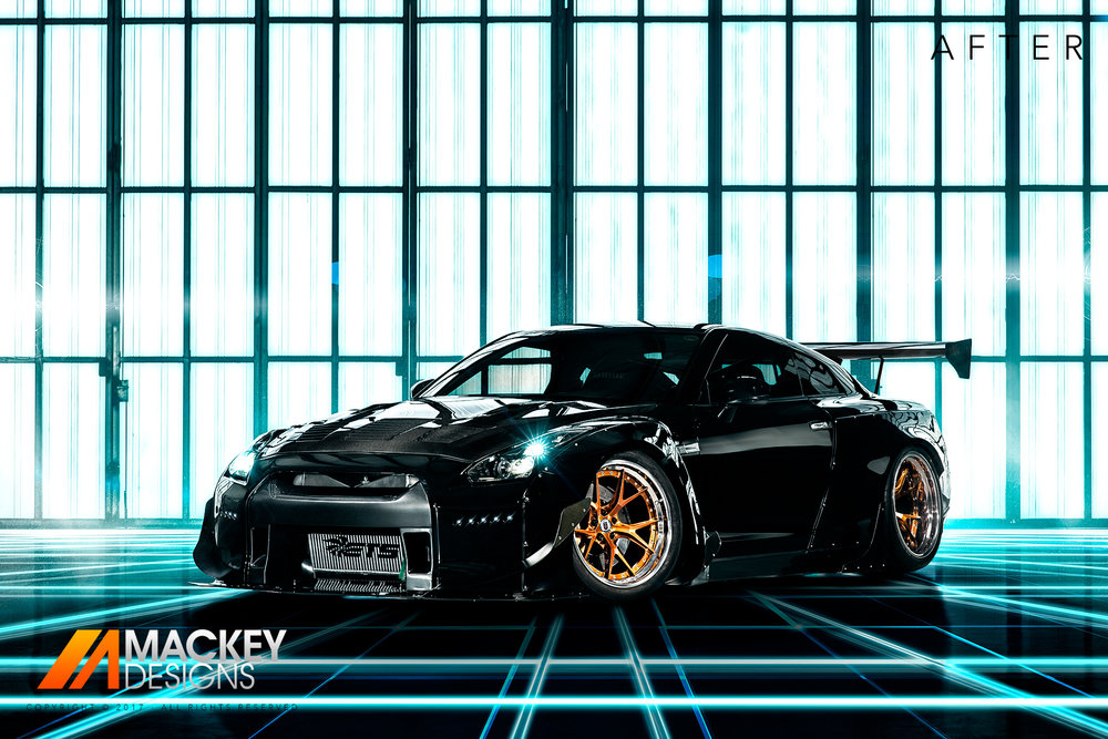 Automotive Photographer - Seattle - Josh Mackey - Rocket Bunny Nissan GTR R35 After