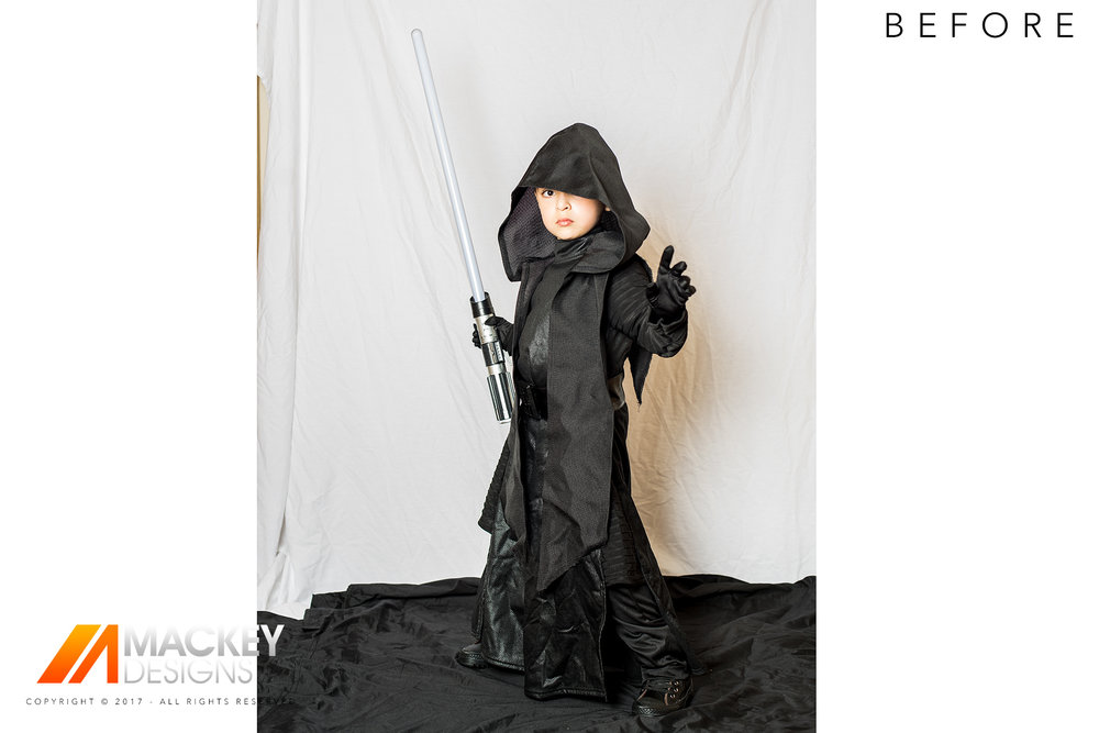Photographer - Seattle - Josh Mackey - Star Wars Cosplay Before