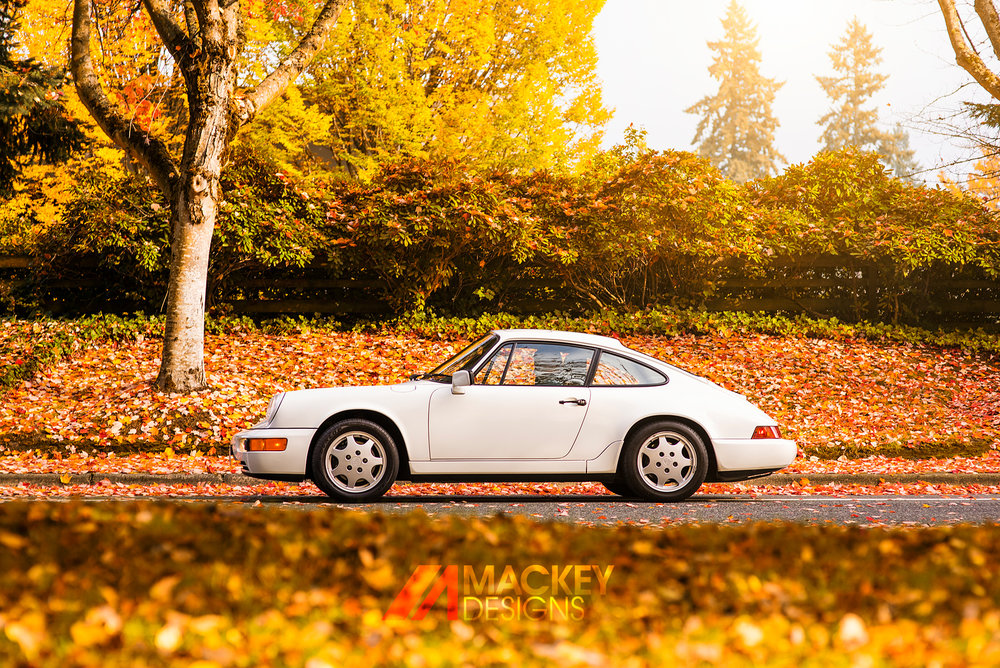 Automotive Photographer - Seattle - Josh Mackey - Porsche 911