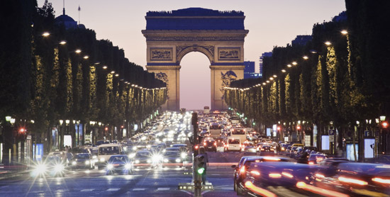 Paris' Champs-Elysees is one of the most iconic, celebrated streets in the romance capitol of the world. The hotel pays homage to the tree-lined boulevard, often referred to as the world's most beautiful avenue.