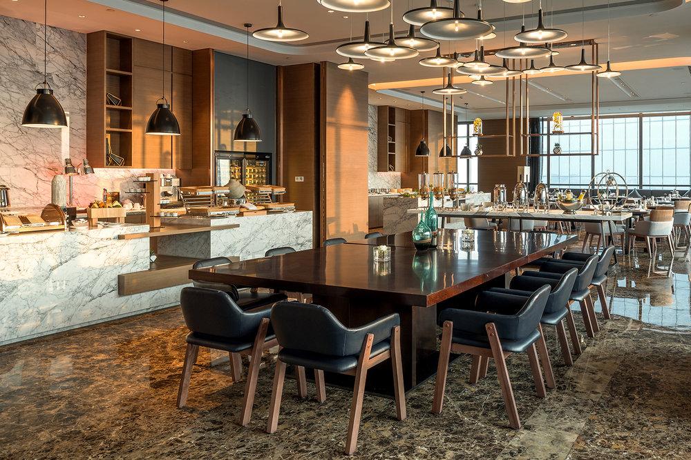 Executive Lounge - Buffet set up.jpg