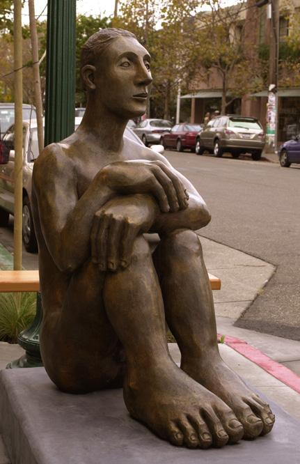 "Mavis McClure ""Pablo"" bronze"