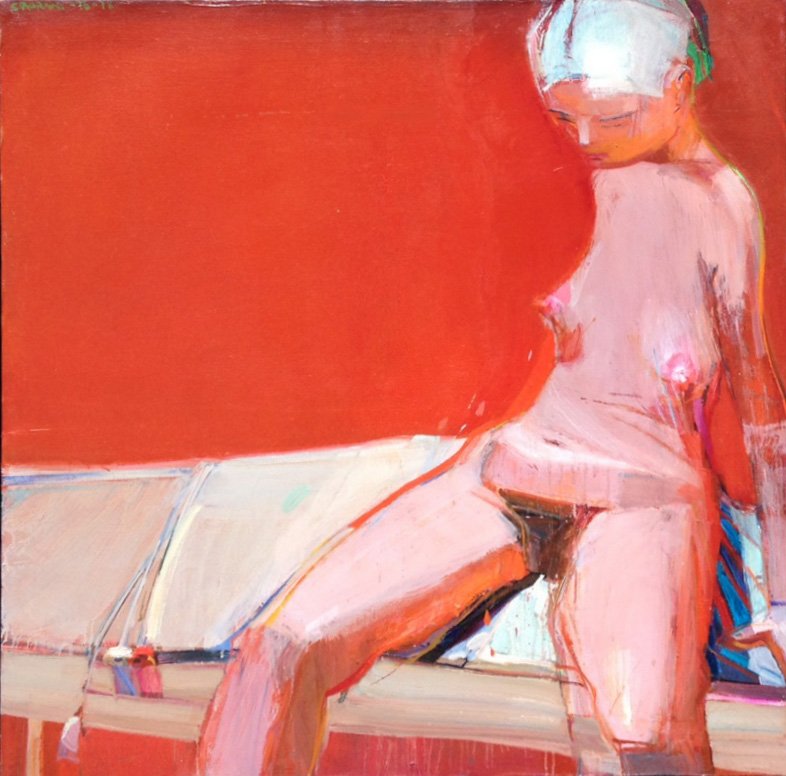 Raimonds Staprans nude w/white hair - sold
