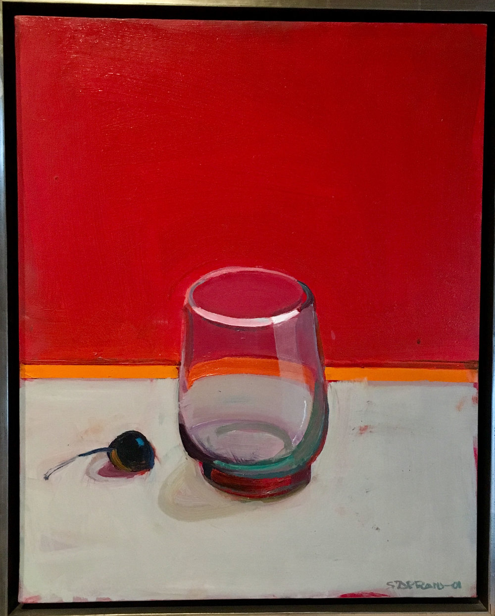 Raimonds Staprans 2001 glass/cherry - sold