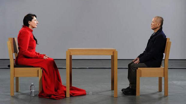 Marina Abramovic performance art