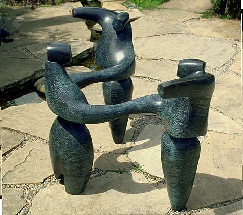 Bolero - Robert Holmes sculpture