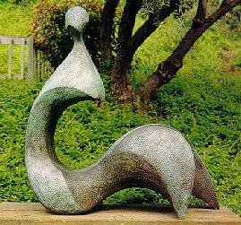 Cici - Robert Holmes sculpture