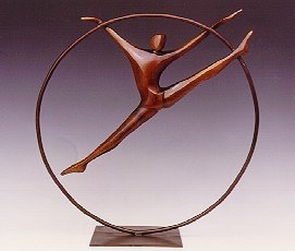 Ring Dancer - Robert Holmes sculpture