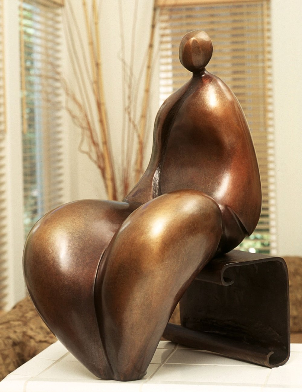 Nantua - Robert Holmes sculpture